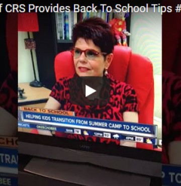 WATCH: Tips For Parents Dealing With Kids Heading Back To School