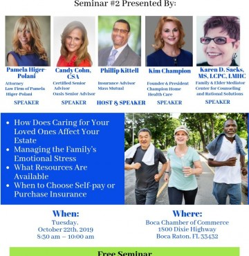 Complimentary Seminar on Balancing Family Caregiving & Inner Place